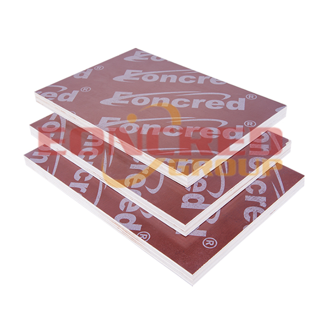 10mm 4x8 Poplar Red Film Faced Plywood for Construction