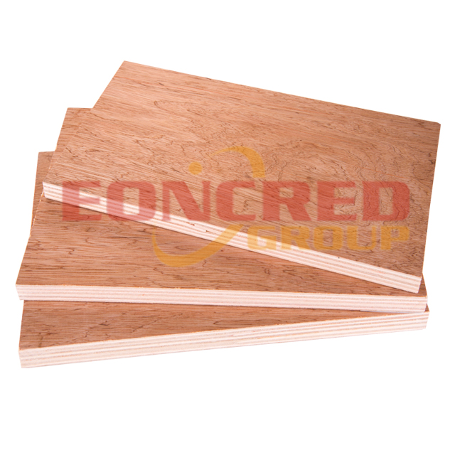 12mm Bintangor faced Poplar Commercial Plywood for Furniture