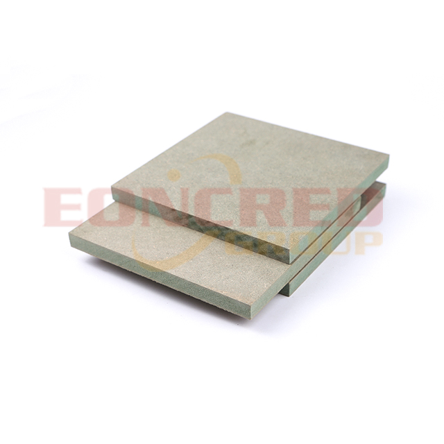 10mm Thick Waterproof Green Mdf for Cabinets